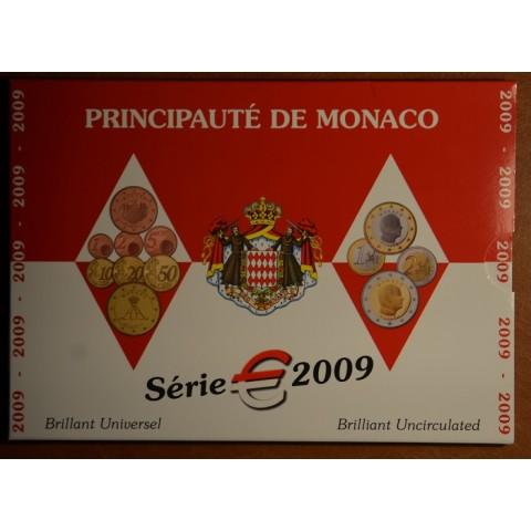 Euro set of 8 coins Monaco 2009 (BU)