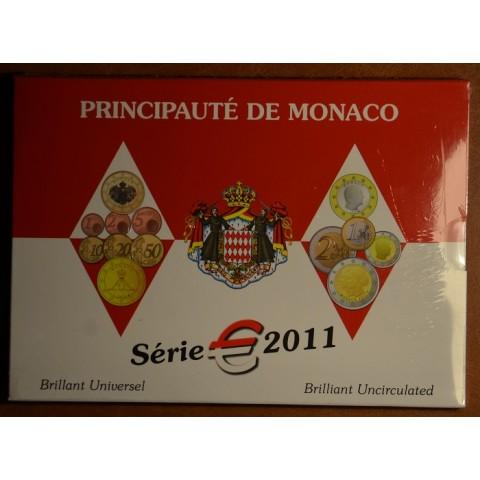 Euro set of 9 coins Monaco 2011 (BU)