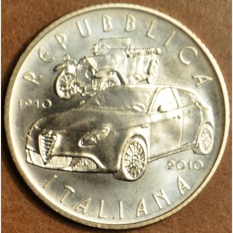 5 Euro Italy 2010 - Alfa Romeo centenary (BU)