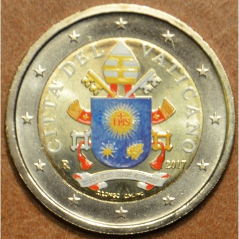 2 Euro Vatican 2017 (colored UNC)