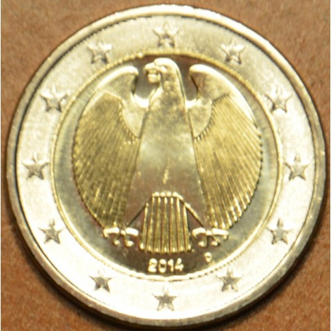"2 Euro Germany ""D"" 2014 (UNC)"
