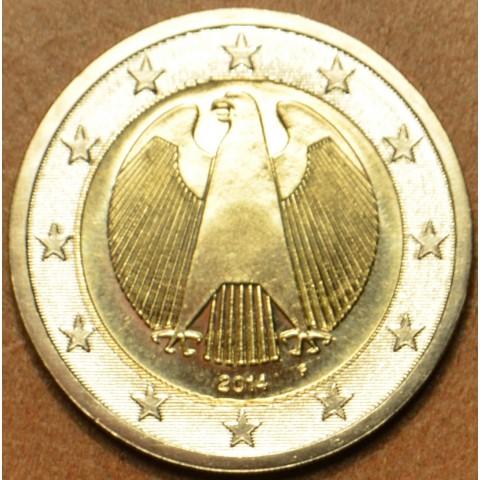 "2 Euro Germany ""F"" 2014 (UNC)"