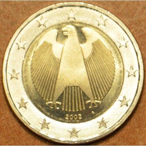 "2 Euro Germany ""A"" 2002 (UNC)"