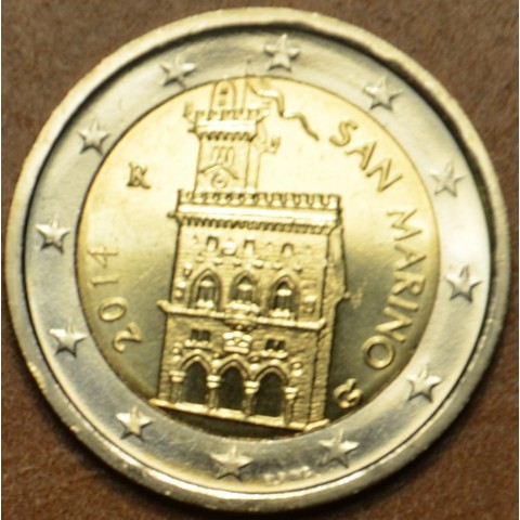 2 Euro San Marino 2014 - Government House (UNC)