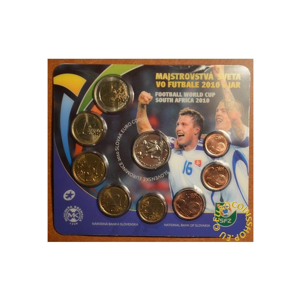 3ed0293bc203d Euromince mince Súbor Slovenských mincí 2010 - MS vo futbale JAR 20...