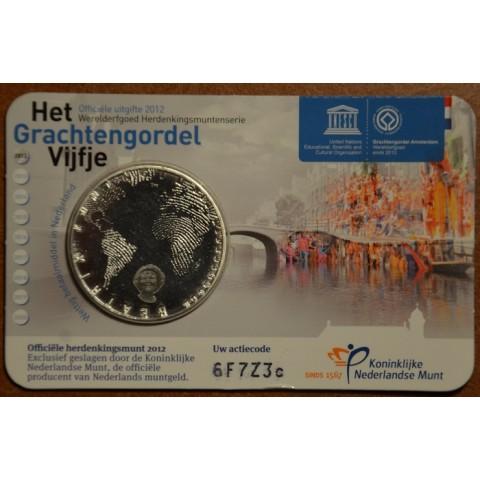 5 Euro Netherlands 2012 - Grachtengordel (BU card)