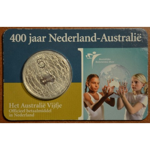 5 Euro Netherlands 2006 - Australia (BU card)