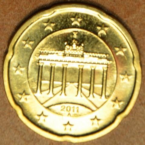 """20 cent Nemecko """"A"""" 2011 (UNC)"""