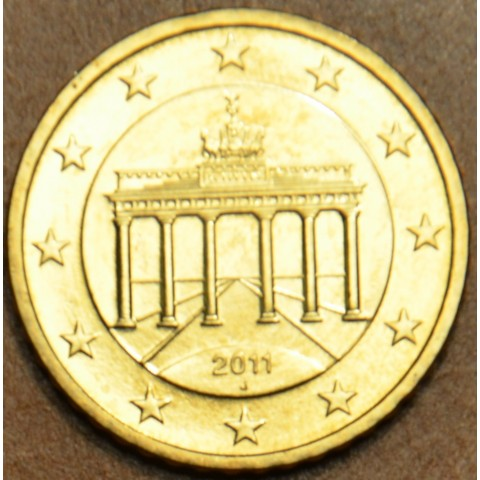 "50 cent Germany ""J"" 2011 (UNC)"