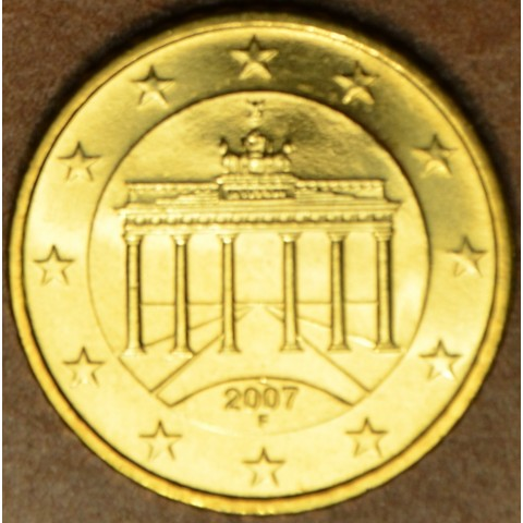 "50 cent Germany ""F"" 2007 (UNC)"