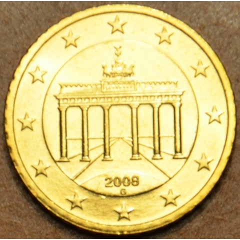 "50 cent Germany ""G"" 2008 (UNC)"