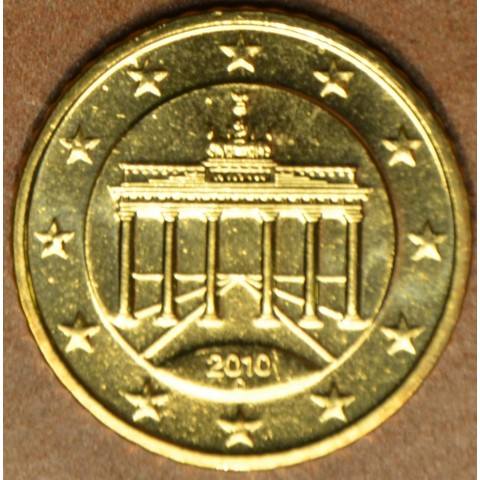 """50 cent Germany """"D"""" 2010 (UNC)"""
