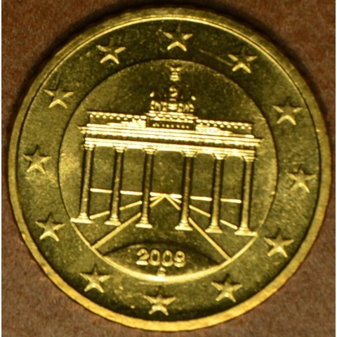 """50 cent Germany """"G"""" 2009 (UNC)"""