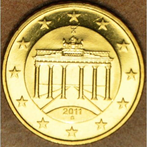 """50 cent Germany """"G"""" 2011 (UNC)"""
