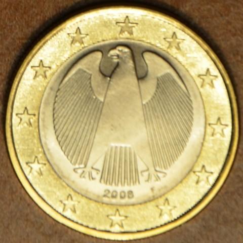 "1 Euro Germany ""F"" 2008 (UNC)"