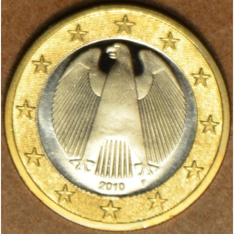 "1 Euro Germany ""F"" 2010 (UNC)"