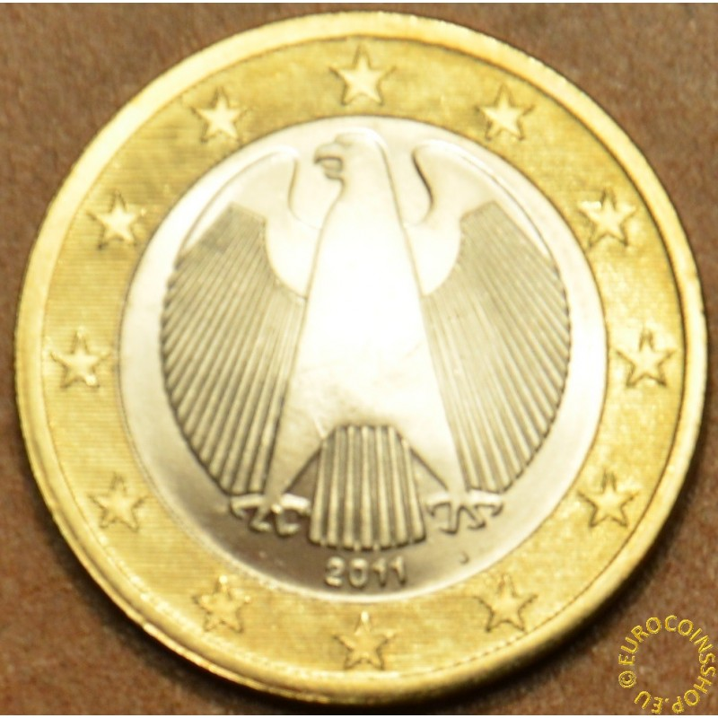 "1 Euro Germany ""J"" 2011 (UNC)"