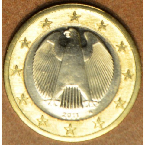 """1 Euro Germany """"A"""" 2011 (UNC)"""
