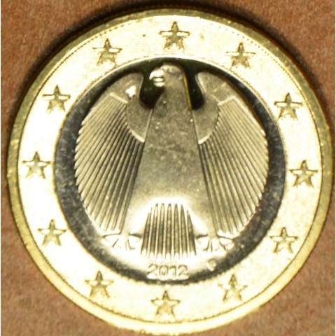 "1 Euro Germany ""F"" 2012 (UNC)"