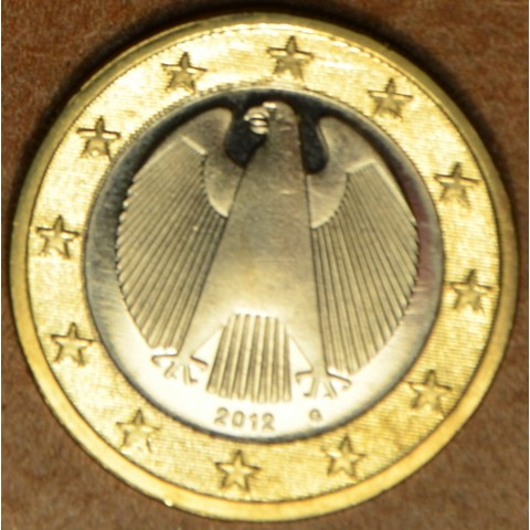 "1 Euro Germany ""G"" 2012 (UNC)"