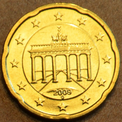"""20 cent Germany """"G"""" 2009 (UNC)"""