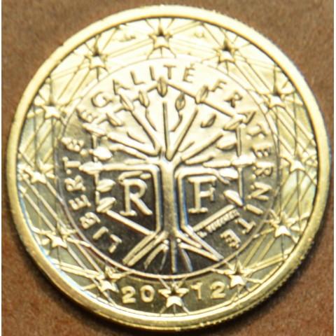 1 Euro Francúzsko 2012 (UNC)