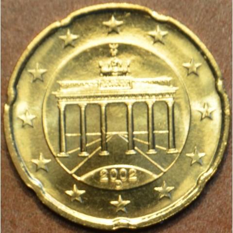 """20 cent Germany """"D"""" 2002 (UNC)"""
