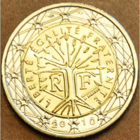 2 Euro Francúzsko 2010 (UNC)