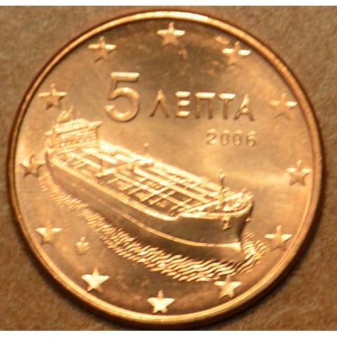 5 cent Grécko 2006 (UNC)