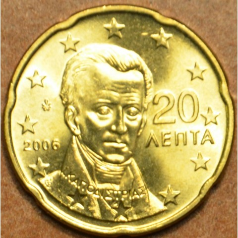 20 cent Grécko 2006 (UNC)