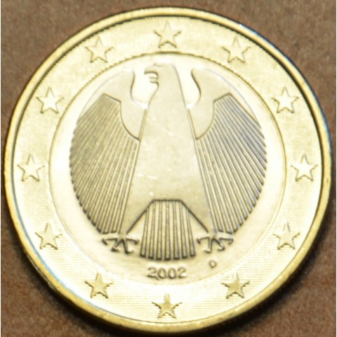 "1 Euro Germany ""D"" 2002 (UNC)"