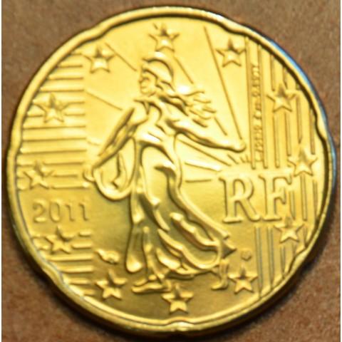 20 cent Francúzsko 2011 (UNC)