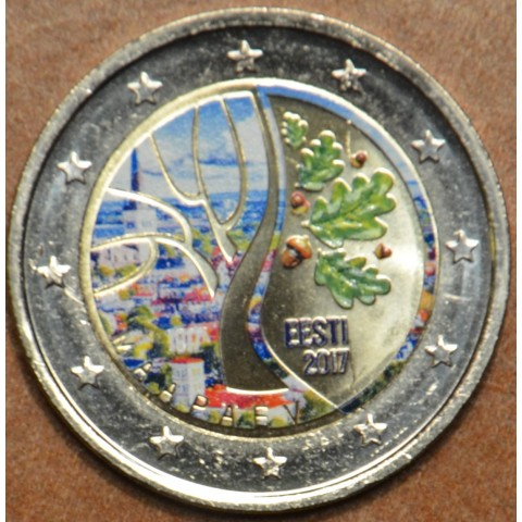 2 Euro Estonia 2017 - Road to independence II. (colored UNC)