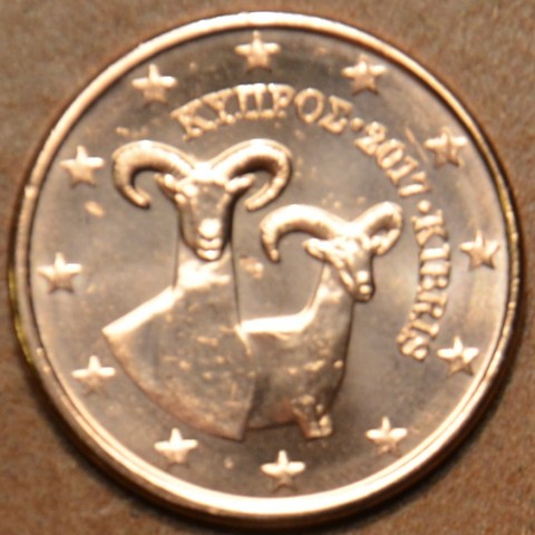 2 cent Cyprus 2017 (UNC)