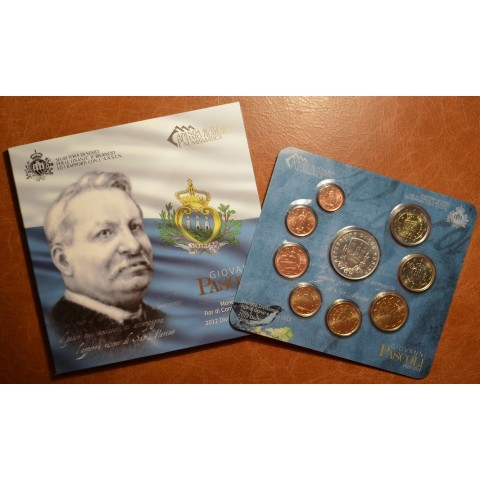 Official 9 coins set of San Marino 2012 (BU)