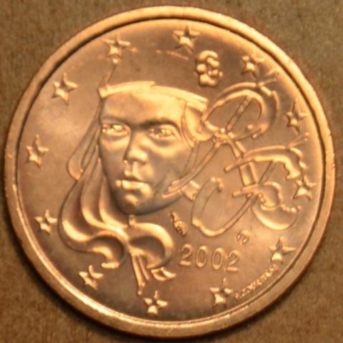 5 cent Francúzsko 2002 (UNC)