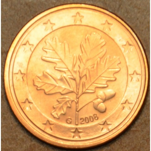 """1 cent Germany """"G"""" 2008 (UNC)"""