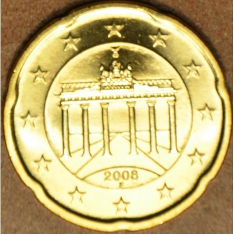"20 cent Nemecko ""F"" 2008 (UNC)"