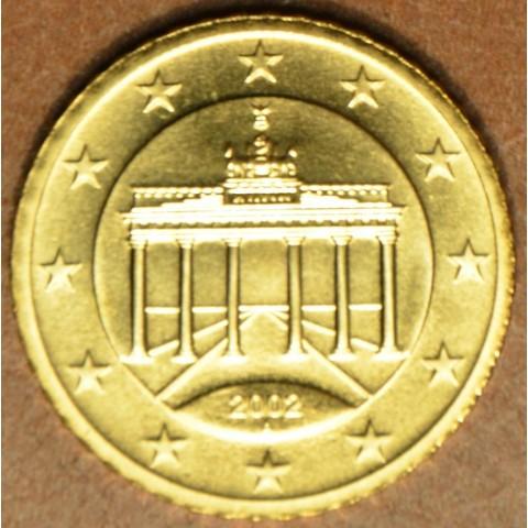 """50 cent Nemecko """"A"""" 2002 (UNC)"""