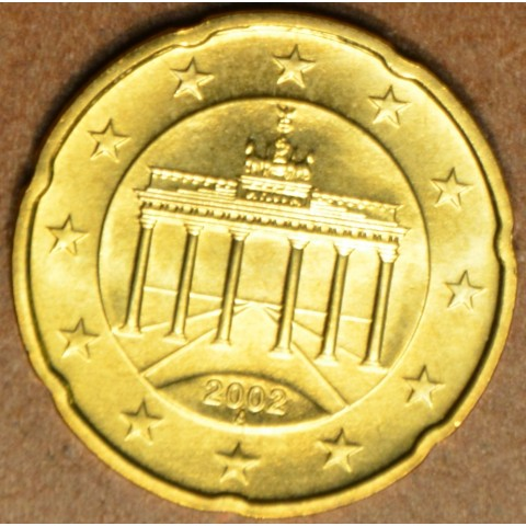 """20 cent Germany """"A"""" 2002 (UNC)"""