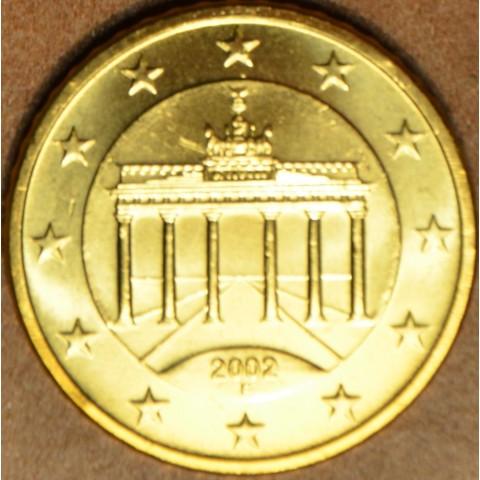 "50 cent Nemecko ""F"" 2002 (UNC)"