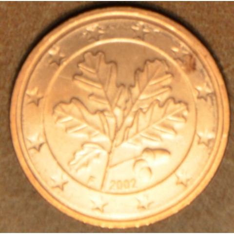 "2 cent Germany ""F"" 2002 (UNC)"