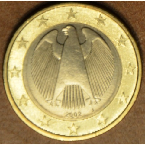 "1 Euro Germany ""J"" 2002 (UNC)"