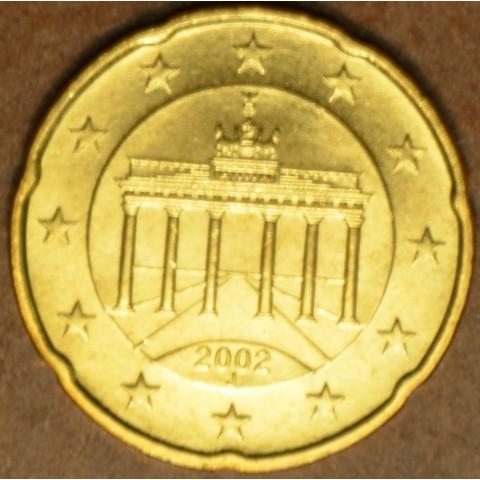 "20 cent Germany ""J"" 2002 (UNC)"