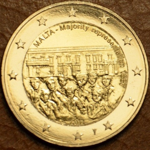2 Euro Malta 2012 - 1887 Majority Representation (UNC)