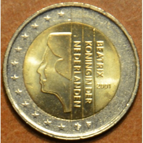 2 Euro Netherlands 2001 (UNC)