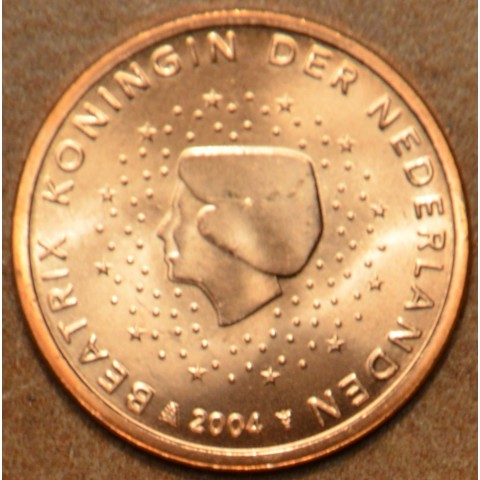 1 cent Holandsko 2004 (UNC)