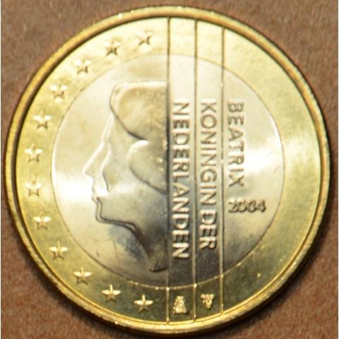 1 Euro Holandsko 2004 - Kráľovná Beatrix (UNC)