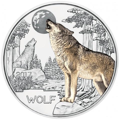 3 Euro Austria 2017 Wolf (UNC)