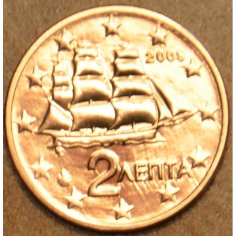 2 cent Grécko 2009 (UNC)
